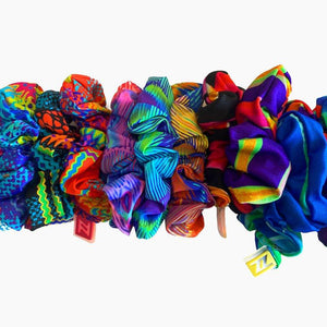 ZAAZEE Surprise Scrunchy Luxury Hair Scrunchy Multi-Coloured