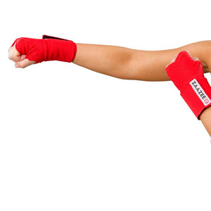 Load image into Gallery viewer, ZAAZEE Wraps Hand Wraps Extreme Red