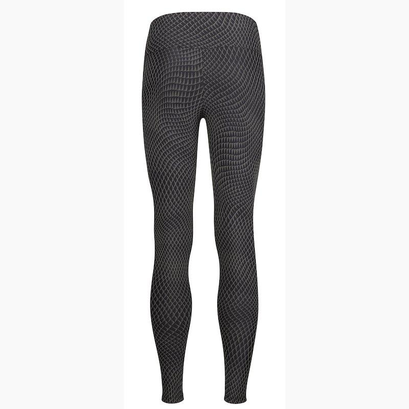 Load image into Gallery viewer, ZAAZEE Zarina Full Length Legging Grey Scale