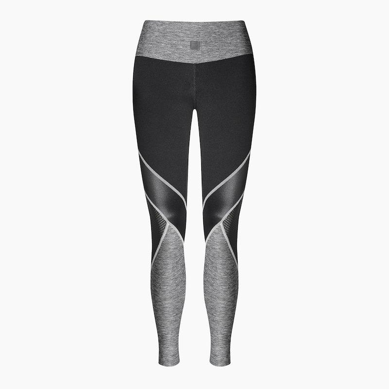 ZAAZEE Zelda Full Length Legging Jet Black / Anthracite Grey
