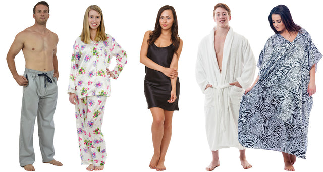 Women's and Men's Sleepwear