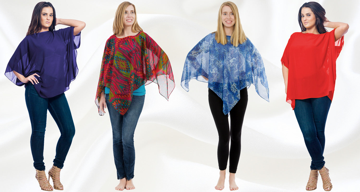 Women's Ponchos and Beach Cover-Ups
