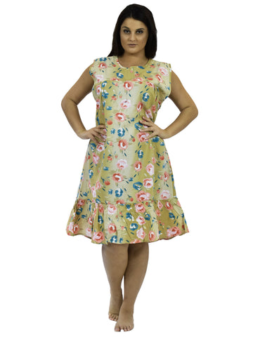Women's House Dress, Sleeveless Style