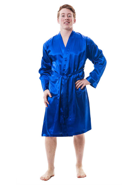 Men's Robe, Satin