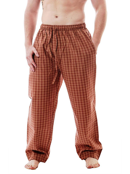 Men's Lounge Pants / Pajama Bottoms / Sleep Pants, Woven