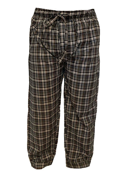 Men's Lounge Pants / Pajama Bottoms / Sleep Pants, Woven, 2-Piece Multicolor Combo