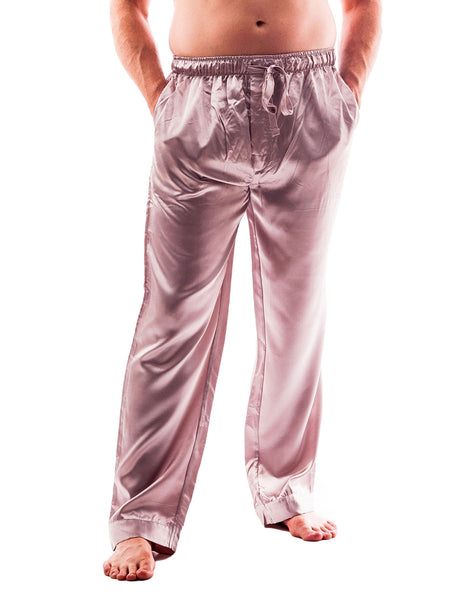 Men's Lounge Pants / Pajama Bottoms / Sleep Pants, Satin