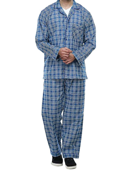 Men's Pajama Set / Pajamas / Pyjamas / PJs, Woven, Check