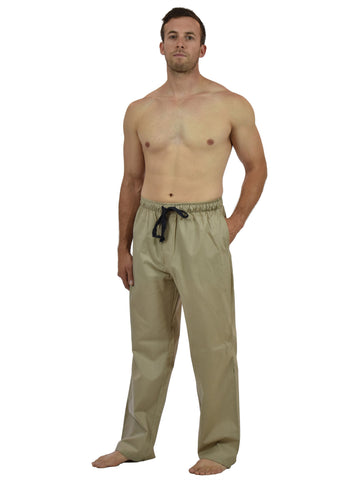 Men's Lounge Pants / Pajama Bottoms / Sleep Pants, 100% Cotton