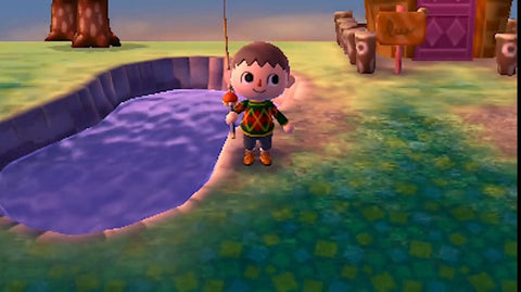 Fishing in Animal Crossing: New Horizons for new fish in the September 2020 update