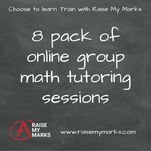 8 group tutoring sessions