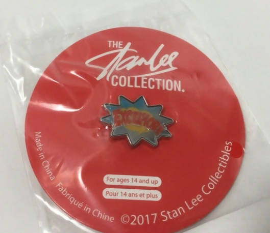 Stan Lee Excelsior Pin