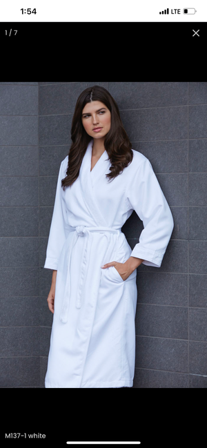 Open image in slideshow, Microfiber Shimmer Lined Robes