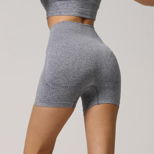 Cloud High-Waist Seamless Shorts - Saints Active