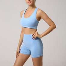 Load image into Gallery viewer, Cloud Racerback Seamless Two-Piece Set - Saints Active