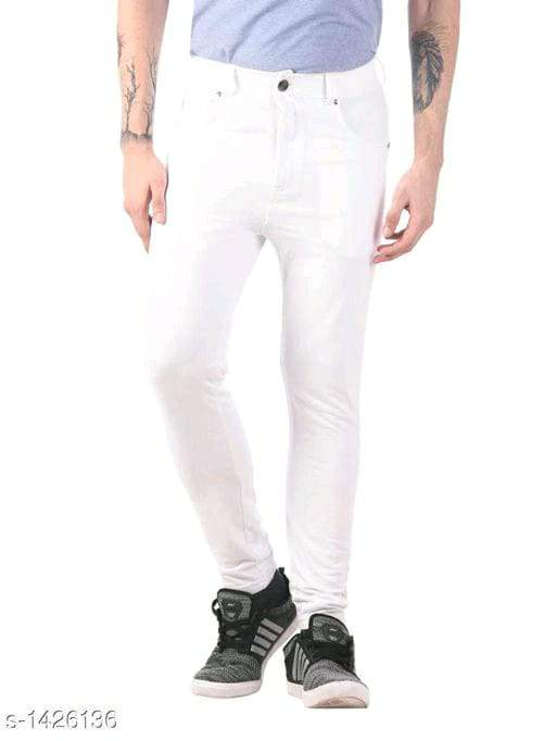 Men's Comfy PolyCotton Solid Trousers Vol 6