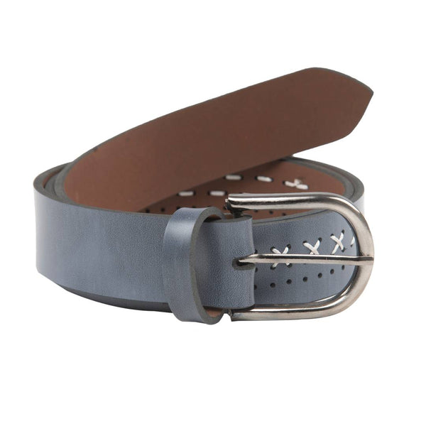 Winsome Deal Casual Blue Artificial Leather Belt For Men's