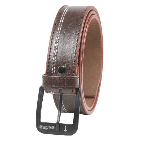 Winsome Deal Casual Brown Artificial Leather Belt For Men's