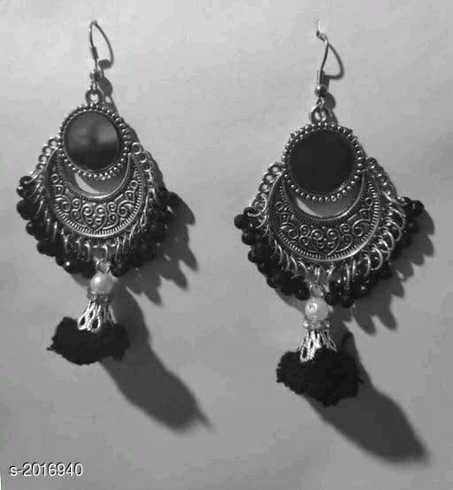Voguish Elegant Oxidized Metal Earrings Vol 1