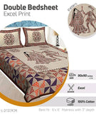 Dream Home Modern Cotton Double Bedsheets Vol 12