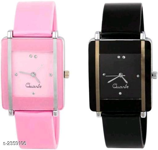 Comfy Trendy Designer Women's Rubber Watches Combo Vol 2