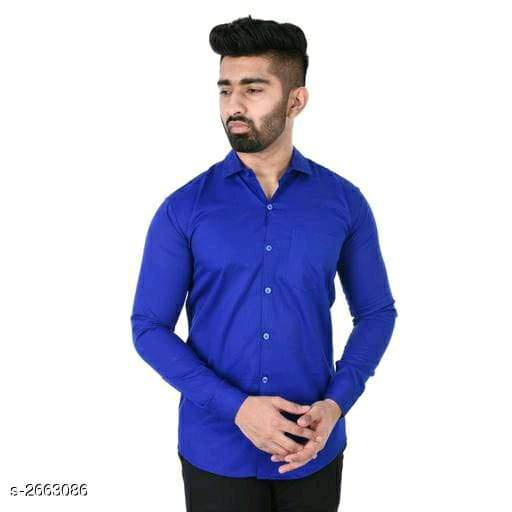 Divine Stylish Attractive Men's Twil Satin Shirts Vol 14