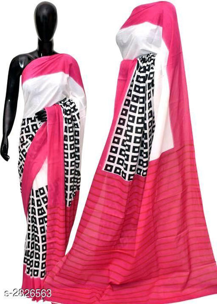 Attractive Cotton Women's Sarees Vol 3