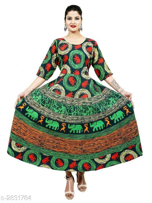 Ebiya Trendy Cotton Printed Women's Kurtis Vol 8