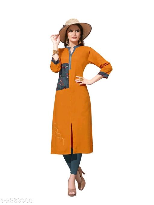 Mahika Gorgeous Rayon Stylish Kurtis Vol 9