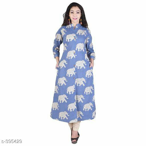 Omila Printed Fancy Kurtis Vol 1