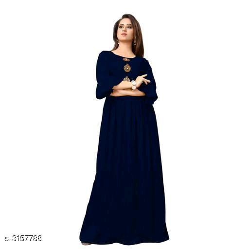 Mahira Trendy Rayon Women's Gown Vol 3