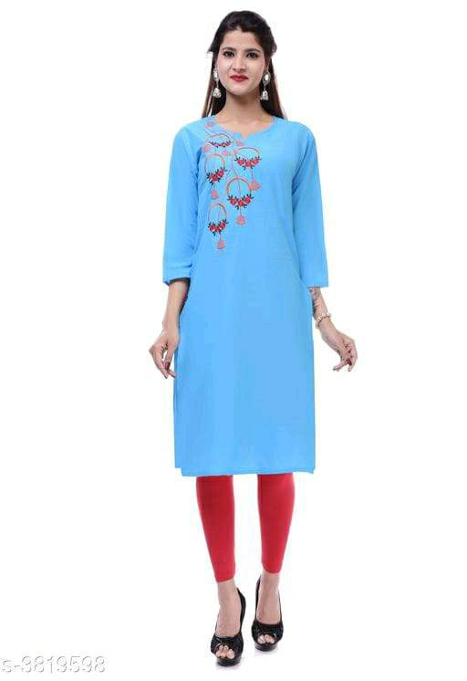 Olla Stylish Cotton Women's Kurtis 1