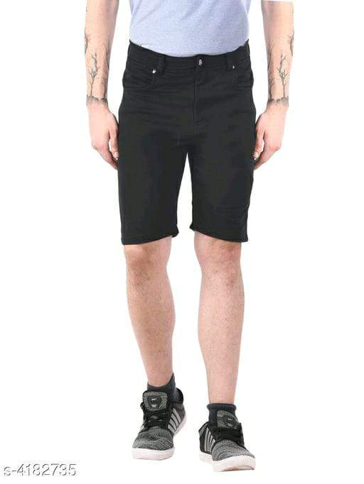 Trendy Classic Cotton Blend Men's Shorts Vol 1