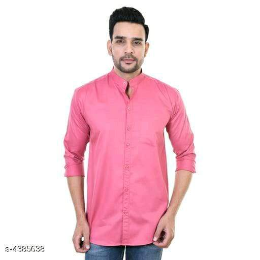 Unique Stylish Cotton Blend Men's Shirts