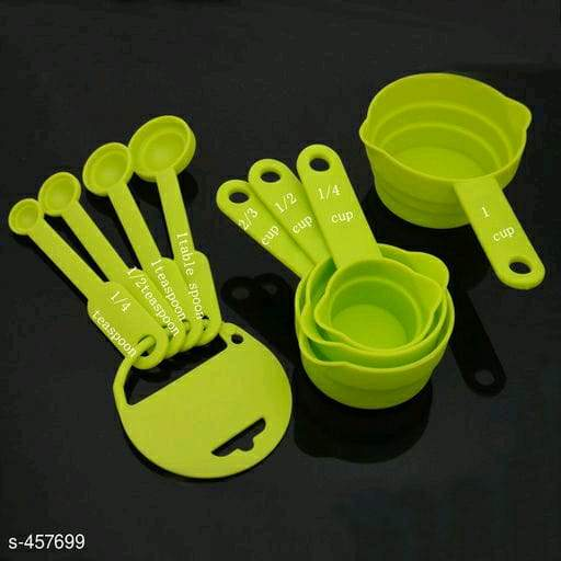 Measuring Cups & Spoons With Stand