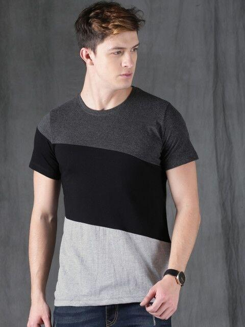 Cotton Solid T-Shirts Vol-6