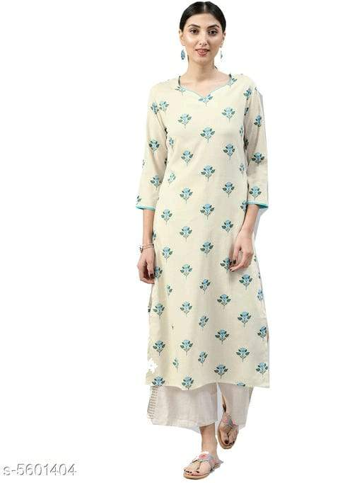 Trendy Stylish Cotton Women's Kurti