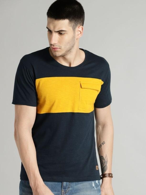 Cotton Blocks Color T-shirt