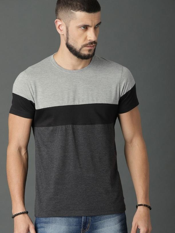 Cotton Solid Regular Fit T-Shirts Vol-2