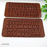 Alphabet Letters Silicone Chocolate Mould