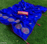 Aliyah Trendy Two Tone Silk Embroidery Sarees Vol 1
