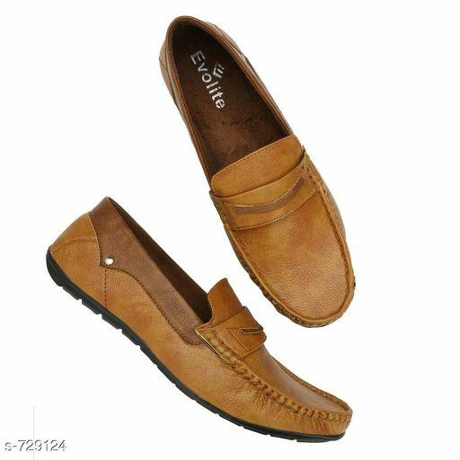 Men's Solid Dailywear Loafers Vol 4
