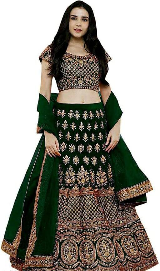 Trendy Voguish Women Lehenga