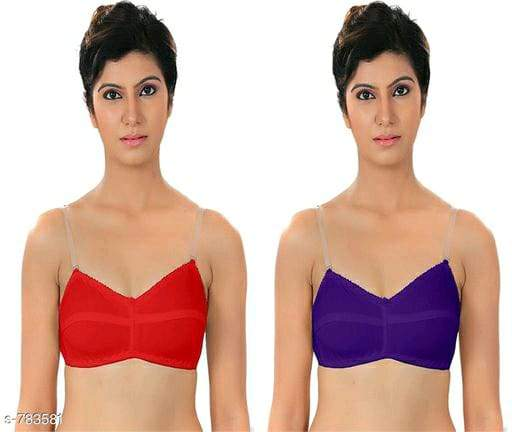 Ladies Fancy Hosiery Non Padded Bra Vol 1