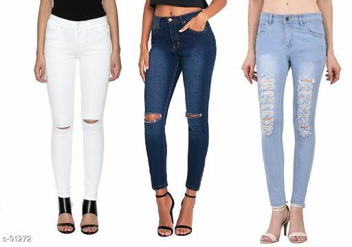 Women's Rugged Jeans Set
