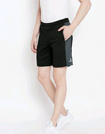 Polyester Solid Sports Short
