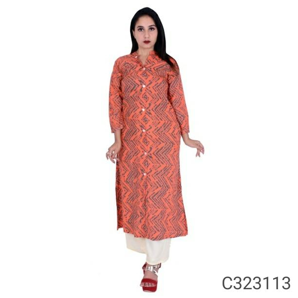 Women's Authentic Rayon Kurtis