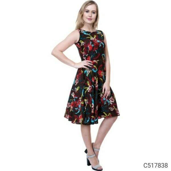 Women's New Georgette Printed Dresses