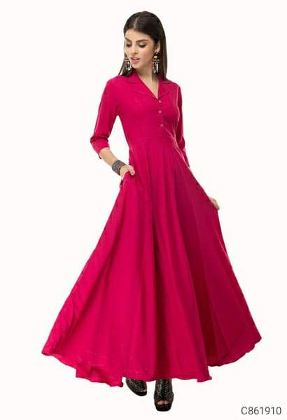 Women's Crepe Solid Maxi Dresses
