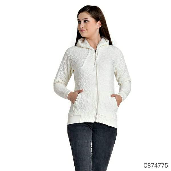 Women's Woolen Blend Solid Zipper Sweaters